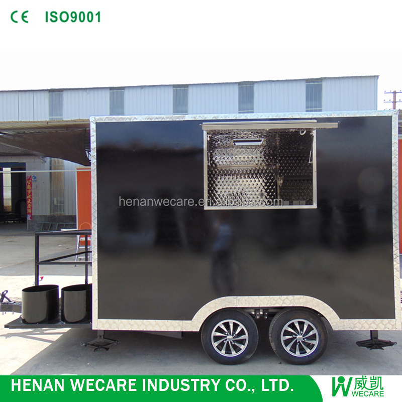 Hot sales outdoor removable meal cart fast design in Henan