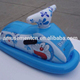 Customize swimming pool inflatable water game pool floating children ride on motorboat