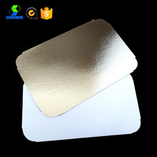 Aluminum foil container paper lid with high quality
