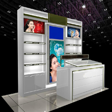 LED cheap beauty fashion cosmetics display shelf