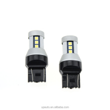 Wholesale T20 automotive led car lamp 3030 canbus 15smd 7440 7443 turn brake light with 2 year waranty