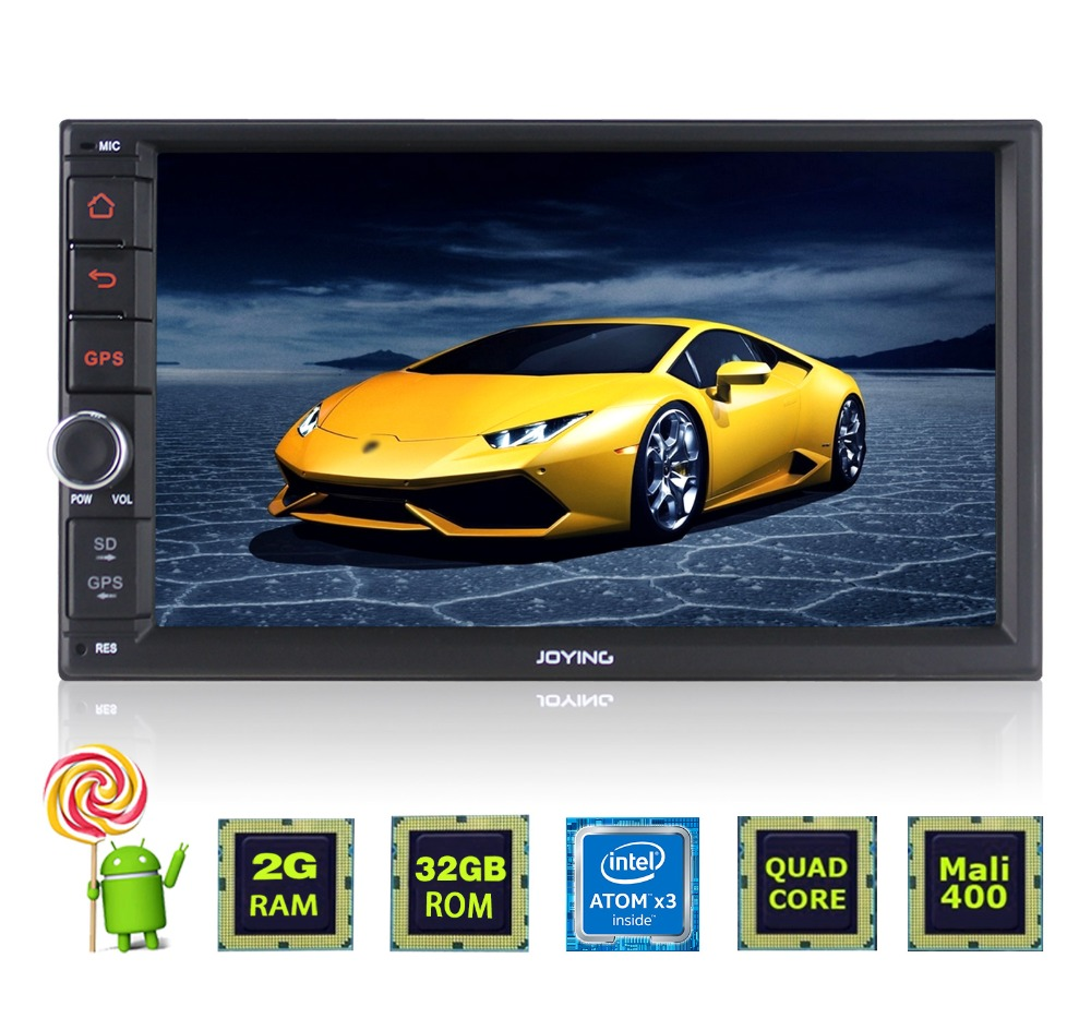 7 inch touch screen stereo vehicle radio equalizer joying double din android bluetooth car stereo