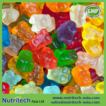 Calcium 600mg Vitamin D 600 IU Gummies bear oem contract manufacturer