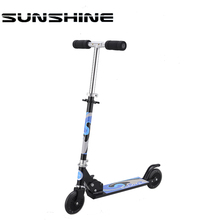 Adult and teenages two wheel 205mm good pedal scooters for adults
