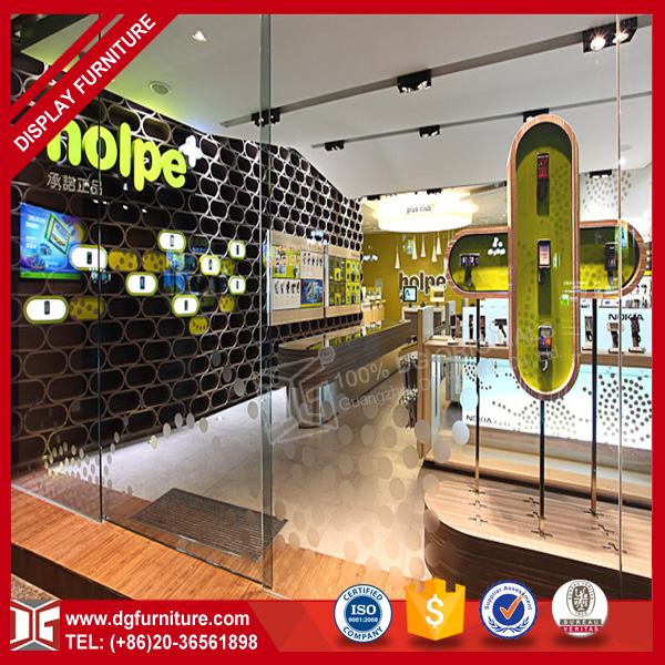 Chain store electronics showroom mobile phone shop interior design