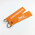 custom Travel gift , Display features of scenic spots embroidered key chain