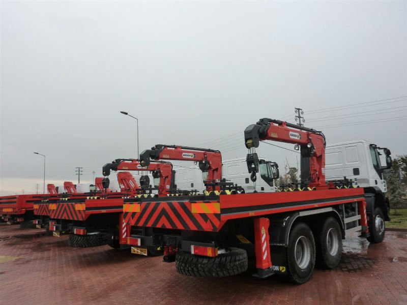 Hk 15 T3 Truck mounted knuckle boom Crane