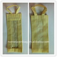 Clear Plastic Wine Bottle Bags