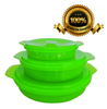 As seen on TV kitchen Foldable Bowl/silicone Collapsible Bowl With Lid