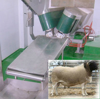 Animal-friendly Living Lamb Goat Ram Sheep V conveyor, V Conveying Machine for Goat Sheep Slaughterhouse