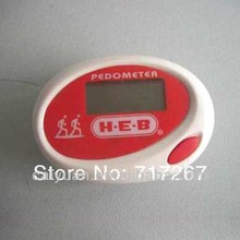 Hot new products for 2015 ellipse shape step counter clip pedometer for dogs