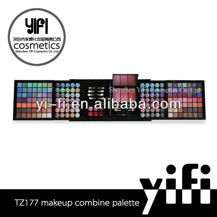 Brand TZ-177 professional makeup palette eyeshadow strips