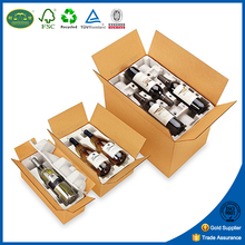 100% recyclable water proof color printed packaging boxes cardboard