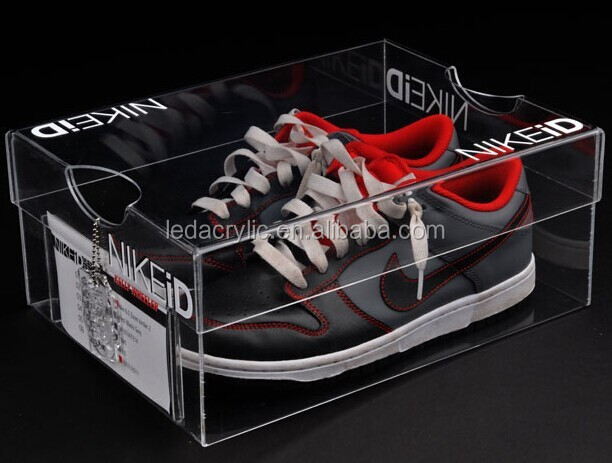 acrylic nike shoes display
