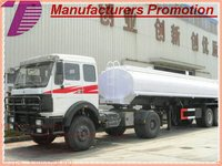 DTA trailer tank for water and fuel, crude oil ,chemical,asphalt.bitumen,alcohol,Diesel factory sale skype: tomsongking