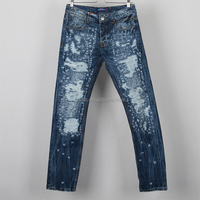 Young man lightweigth jean trousers for summer new fashion pattern jean high quality manufacturer made in china