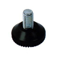 High quality hot sell leg chair feet plastic base metal screw furniture glide