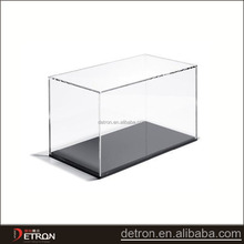 Pop acrylic kids toys display case plastic acrylic display cases for model cars