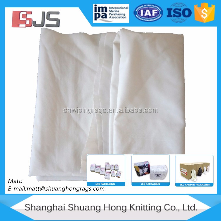 Bed sheeting rags (USED) clothing per pound recycling clothes company