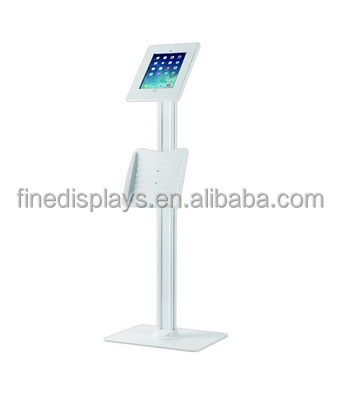 Secure Anti Theft Tablet Kiosk with Key + Lock - Display iPad Android Device Heavy Duty Mounted Enclosure(IP-B-0249)