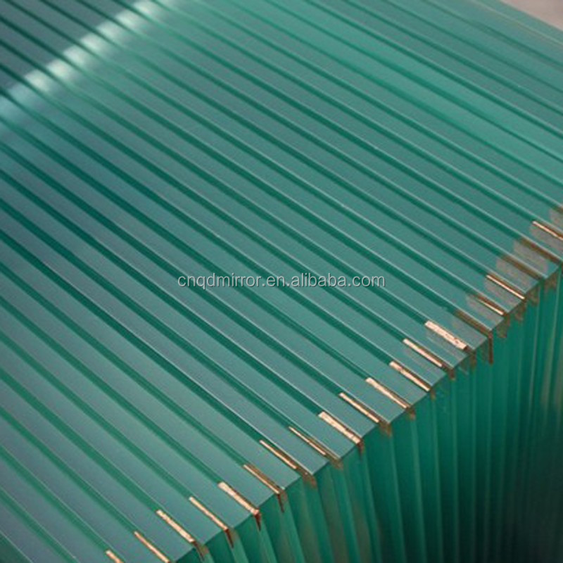 8mm high strength tempered glass widely used building glass