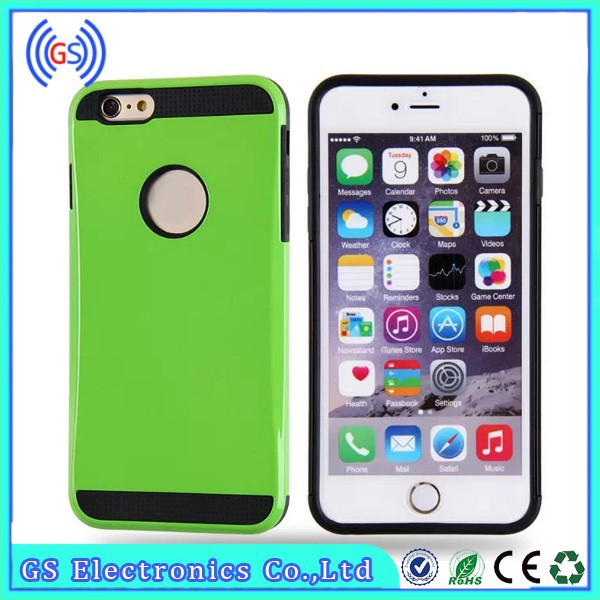 High quality 2 in 1 PC Silicone Slim Armor cheap case for iphone5c