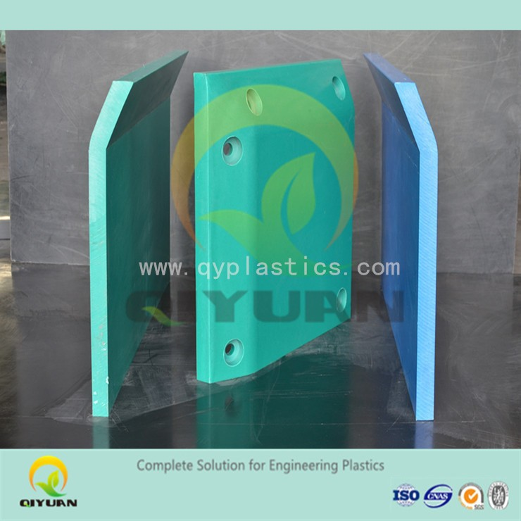 anti static HDPE marine fender pad/ panels/ sheet, UHMWPE large size green plastic dock bumpwe