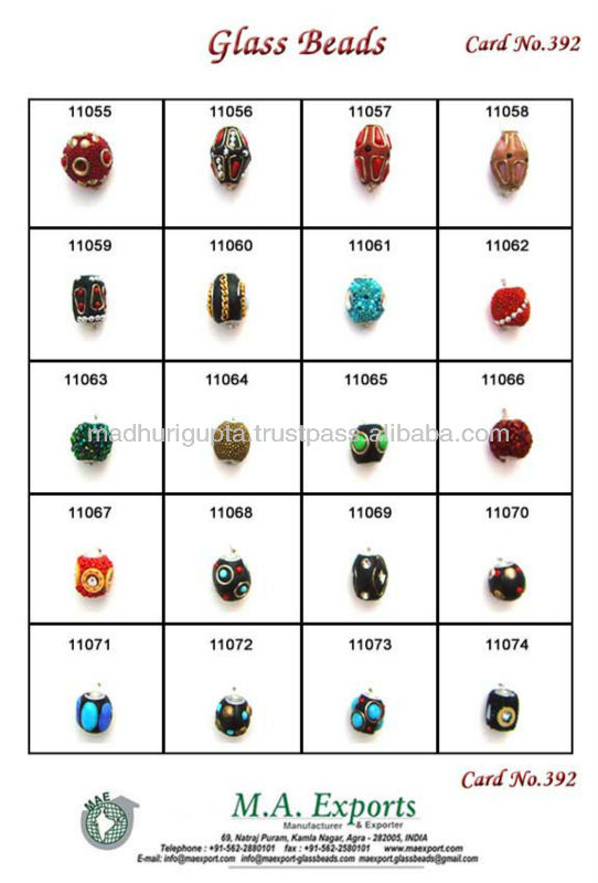 Shamballa beads or kashmiri beads 100% handmade of different seed beads