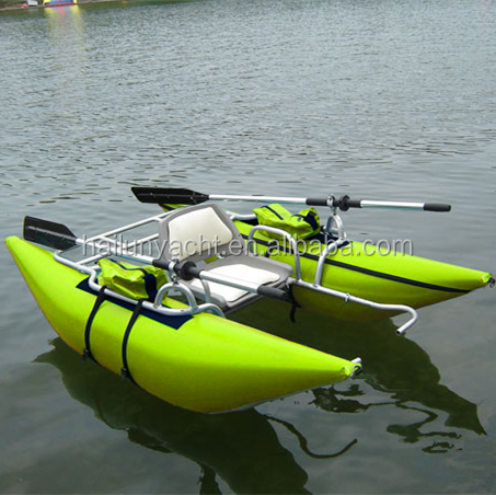 Inflatable pontoon frame bing images for Portable fishing boat