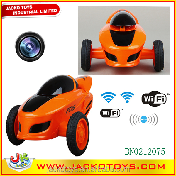 Wifi android/Iphone real time transmission rc car with LED