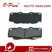 Toyota Hilux Pickup 04465-04030 brake pad o-pure ceramic Auto Spare Parts