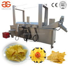 Continous Meat Fryer | Fryer for Chicken /Shrimp /Small Yellow Croaker|Gas Heating Continous Frying Machine