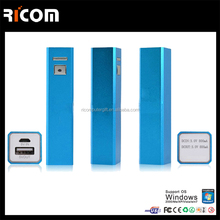 smart lipstick 1200mah power bank,Shenzhen supply portable power bank,best selling power bank---PB104--Shenzhen Ricom