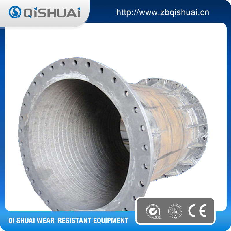 Wear resistance alloy welded chrome steel pipes
