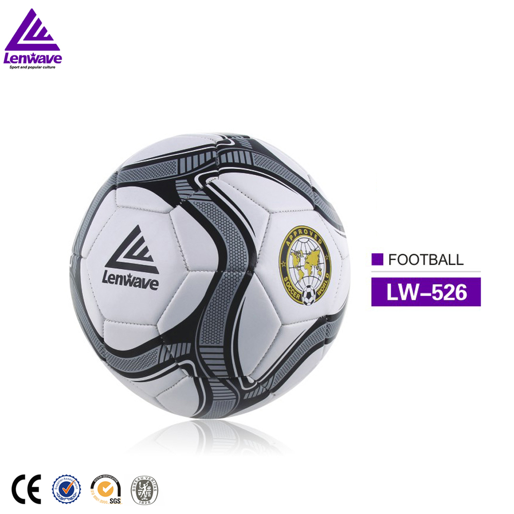 High quality cheap wholesale Lenwave brand custom print PVC soccer <strong>Ball</strong>