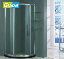 ningbo guida high quality chemically roofing panels shower tempered glass