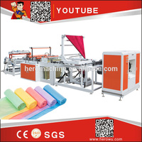 Hig Speed Three Layers Co-extrusion Film Blowing Machine stretch film rewinding machine