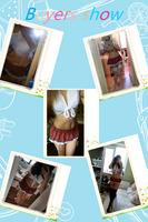 пикантная школьная костюм для девочек короткие мини-юбка и топы хэллоуин роль играют школы сексуальное женское белье костюм карневале