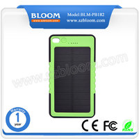 Outdoor 8000mah Solar Power Bank Distributors, Waterproof Solar Power Bank