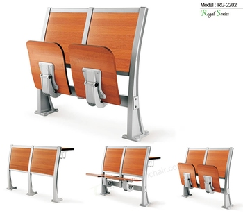 Triumph classroom desk chairs for college / meeting room bend wood chair / lecture theatre chairs LTY
