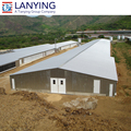 low cost steel structure sheds for poultry farm