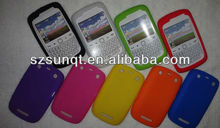 Hot fashion silicone skin cover case for blackberry curve 9360