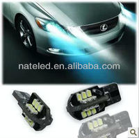 2013 hot sale Car error free led smd T10 canbus 24SMD 1210chip
