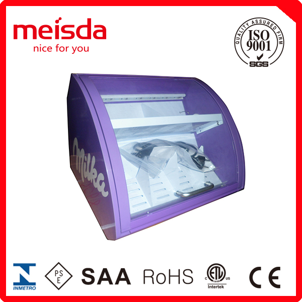 15L counter top cooler,mini chocolate cooler,refrigerated display cooler