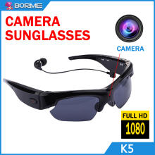 Factory Direct Camera Surveillance Smart MP3 Sunglasses1080 Full HD Video Motorcycle Riding Glasses Sunglasses Camera