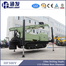 HF300Y factory direct sale DTH drilling rig/down the hole hammer drill machine