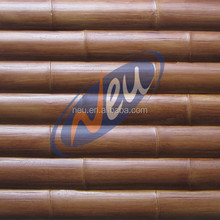 3D PU faux bamboo panel,interior wall panel for decoration.3kg weight