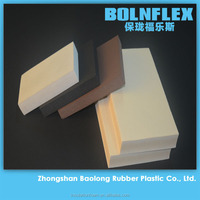 PVC/NBR Rubber Foam Insulation Closed Cell Spray Foam Insulation