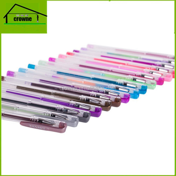 Gel Pens 240 Drawing Coloring Book-120colors add 120colors refill