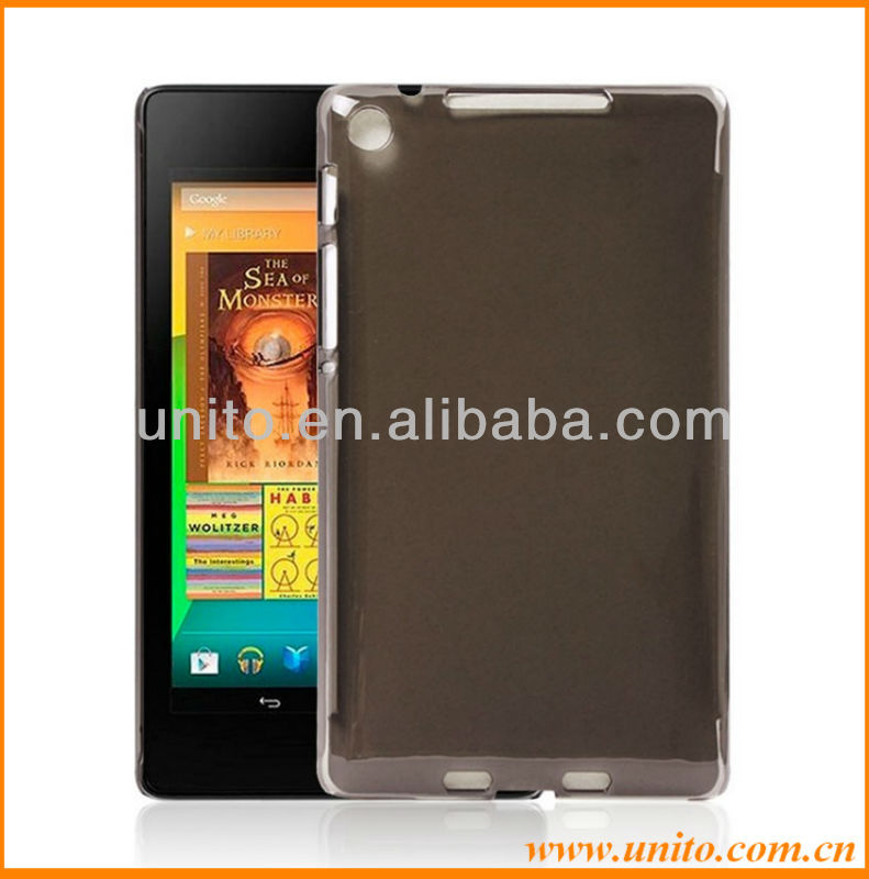 Protective Transparent Hard PC Case For Google Nexus 7 2nd generation